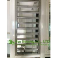 Wholesale Hurricane-proof Aluminum Glass Louvered windows With Removable Screen,Jalousie louvre from china suppliers