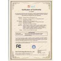 Shenzhen USource Technology Co., Ltd Certifications