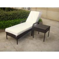 Wholesale Outdoor Pool side Sun Lounge Daybed Set Poly Rattan Furniture Cushion Cover from china suppliers