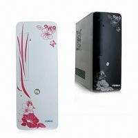 China Slim Tower PC Case with Seven Slots and ATX Power Supply on sale