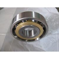Wholesale Long life Single Row Angular Contact Ball Bearing With Brass Cage from china suppliers