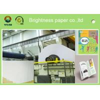Wholesale A4 Compatible Offset Printing Paper / Book Printing Paper High Brightness from china suppliers