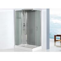 Wholesale 5mm Glass Square Shower Enclosure 800 X 1200 Sliding Door Shower Cubicles With Drainer from china suppliers