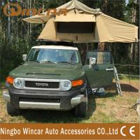 Wholesale 420D 260G / 280G ripstop canvas Waterproof roof top tent For travel from china suppliers
