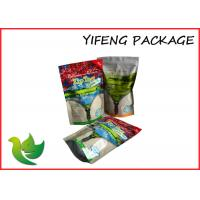 Wholesale Plastic Green Tea Stand Up Bag Non - Leakage With Customized Printed from china suppliers