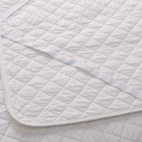 Quality King Size White Quilted Waterproof Mattress Protector TPU Laminated for sale