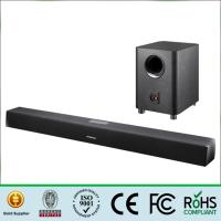 Wholesale Bluetooth 2.1 Sound Bar Wireless Subwoofer , Tv Sound Bar Speaker 80Hz-16KHz Frequency from china suppliers