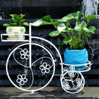 Wholesale wrought iron flower rack planter from china suppliers