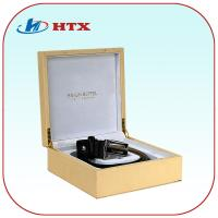 Wholesale Gold Color Wood Box for Leather Belt/Necklace/Jewelry from china suppliers