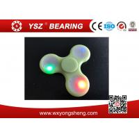 Wholesale Colorful LED Light  Hand Spinner Fidget Toy For Adults High Qualtiy from china suppliers