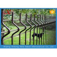 Wholesale Custom Black / Green Welded Wire Mesh Fence For Residential V Shape from china suppliers