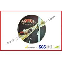 Wholesale Round Baileys Chocolate Gift Packaging Boxes With Offset Printing / Ribbon for Wedding Dress from china suppliers