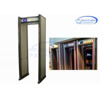Buy cheap Entertainment Places Archway Metal Detector Doors  Anti Interference Without Blind from wholesalers
