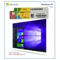 Windows product key sticker win 10 pro oem coa x20 online for Window 10 pro product key