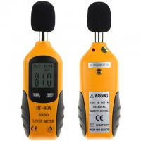 Wholesale 2017 Mini Portable Size Sound Level Meter LCD Digital Screen Display Noise Tester Noise Decibel Monitor Pressure Tester from china suppliers