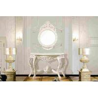 Wholesale Home Decorative Dressing Table And Mirror , White Vintage Console Table from china suppliers