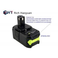 Wholesale Lithium Ion Rechargeable Power Tool Batteries 18v 6.0Ah For Ryobi P104 P102 P103 P107 P108 from china suppliers