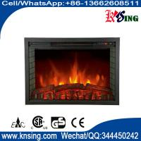 """Wholesale Electric Fireplace Heater EF463 insert Fireboxs 33"""" Stoves log burning Flame remote control mantel chimenea room heater from china suppliers"""