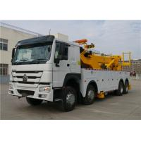 Wholesale Professional Wrecker Tow Truck 8x4 371hp 40T 12 Wheels 40 tons Commercial Tow Truck from china suppliers