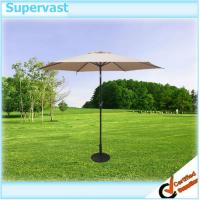 Wholesale Durable 9 FT Outdoor Aluminium Patio Umbrella , Straight Patio Market Umbrellas from china suppliers
