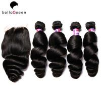 Wholesale 7a Burmese Loose Wave Real Human Hair Extensions 10 Inch - 30 Inch from china suppliers