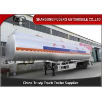 Cabon steel material Fuel Tank Semi Trailer 3 axles 6 cabins