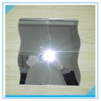 Wholesale Bevelled Edge Arch Oval 6mm Processed Mirror Glass Sinoy , Flat Bathroom Mirror from china suppliers