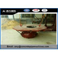Wholesale No Slurry Concrete Casting Machine , Rcc Hume Pipe Machine High Strength from china suppliers