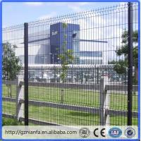 Wholesale ISO/CE certificated galvanized and PVC coated Welded Wire Mesh Fence(Guangzhou Factory) from china suppliers