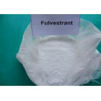 Wholesale Fulvestrant Injection For Breast Cancer / Natural Anti Estrogen Supplements from china suppliers