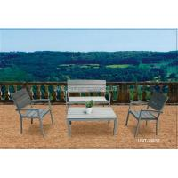 Wholesale Garden aluminium metal patio furniture outdoor / polywood table and chair from china suppliers