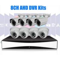 Wholesale 8Channel Full HD CCTV DVR Kit 1280 x 720 1 Megapixel CCTV Cameras from china suppliers