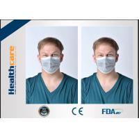 4 Ply Disposable Face Mask Anti Dust With Black Active Carbon For Doctors Nurses
