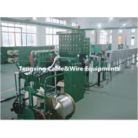 Wholesale anti-high temperature silicone cable wire production line for automobile,car,bike etc from china suppliers