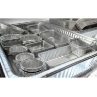 Wholesale Alloy Household Disposable Thick Aluminium Foil Tray Container Food from china suppliers