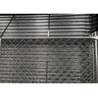 Wholesale American Standard Temporary Construction Fencing Panels 6'height x12'width Mesh 63mmx63mm Diameter 2.7mm 100gram/sqm HDG from china suppliers