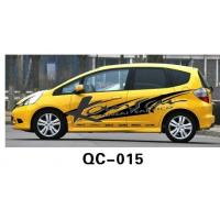 Wholesale UV offset printing Car Body Sticker QC-015A / Car Decoration from china suppliers
