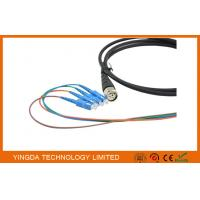 Wholesale FTTA Defense ODC Male 4 Cores Fiber Optic Patch Cord LC Waterproof from china suppliers
