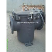 """Wholesale Big Size DN10"""" Marine Can water filter, cast iron F7121 from china suppliers"""