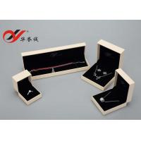 Wholesale ECO Friendly Material Jewelry Chain Box , Leatherette Paper Jewelry Pendant Box from china suppliers