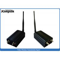 Wholesale Long Range Security Analog Video Transmission , 2000mw Wireless Av Sender 1.2ghz from china suppliers