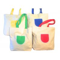 Wholesale Canvas Tote Shoulder Bags Reusable Beach Bags , Grocery And Shopping Bags from china suppliers