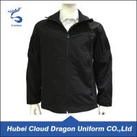 Wholesale Elastic Softshell Security Guard Jackets , Security Guard Coats Adjustable Cuffs from china suppliers