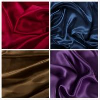 China 16mm 100% Silk Satin Fabric For Fashion Apparel on sale