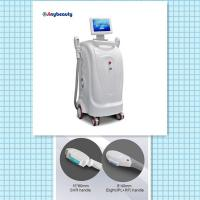 Buy cheap model number SH-1 vertical model two handles super hair removal machine ipl+rf laser machine from wholesalers