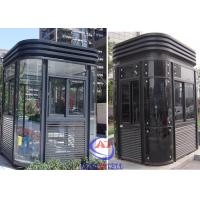 Wholesale Parking Entrance Modern fire resistant security guard room Nice from china suppliers
