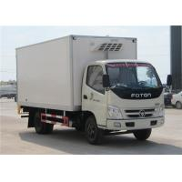 Wholesale FOTON 6 Wheels small Refrigerated Box Truck , 3 Tons Refrigerator Freezer Truck from china suppliers