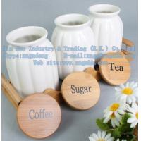 Wholesale The bamboo storage tank, bamboo care coffee cans, wooden frame sauce pot from china suppliers