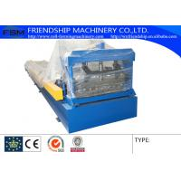 Wholesale Low Alloy Steel Plate Corrugated Sheet Roll Forming Machine , 0.4-0.6mm Tickness from china suppliers