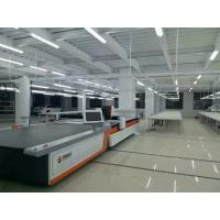 Quality Industrial CNC Textile Cutting Machinery with Juki Sewing Machine Cutting Table for sale